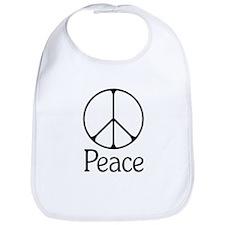Elegant 'Peace' Sign Bib