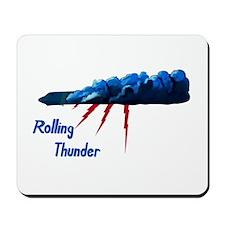 Rolling Thunder Mousepad