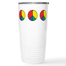 Elegant Peace Color Travel Coffee Mug