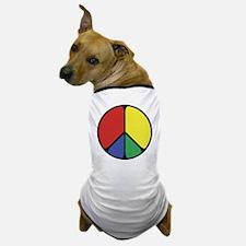 Elegant Peace Color Dog T-Shirt