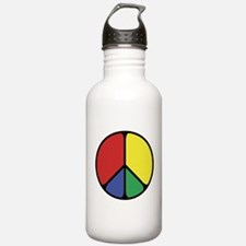 Elegant Peace Color Water Bottle