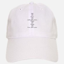 Soft Kitty Baseball Baseball Cap