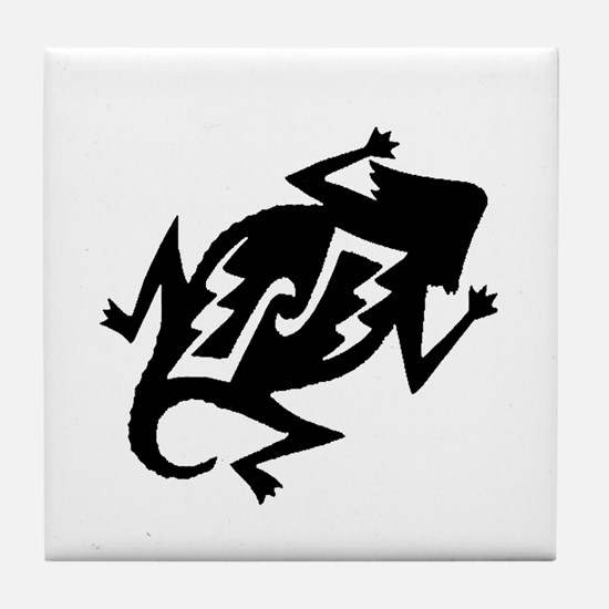 Horny Toad Tile Coaster