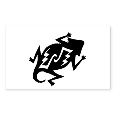 Horny Toad Sticker (Rectangle)