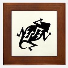 Horny Toad Framed Tile