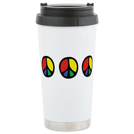 Flowing Peace Color Stainless Steel Travel Mug
