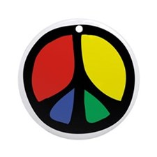 Flowing Peace Color Ornament (Round)