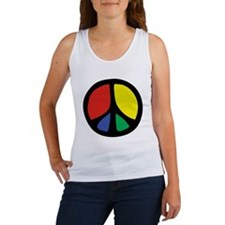 Flowing Peace Color Women's Tank Top