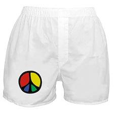 Flowing Peace Color Boxer Shorts