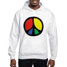 Flowing Peace Color Hoodie