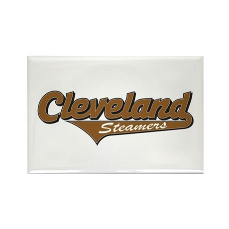Cleveland Steamers Rectangle Magnet
