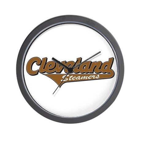 Cleveland Steamers Wall Clock