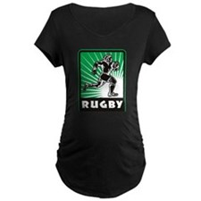 rugby player running T-Shirt