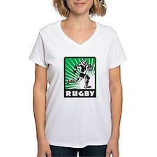 rugby player running Shirt