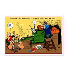 Pumpkin Pie Machine Postcards (Package of 8)