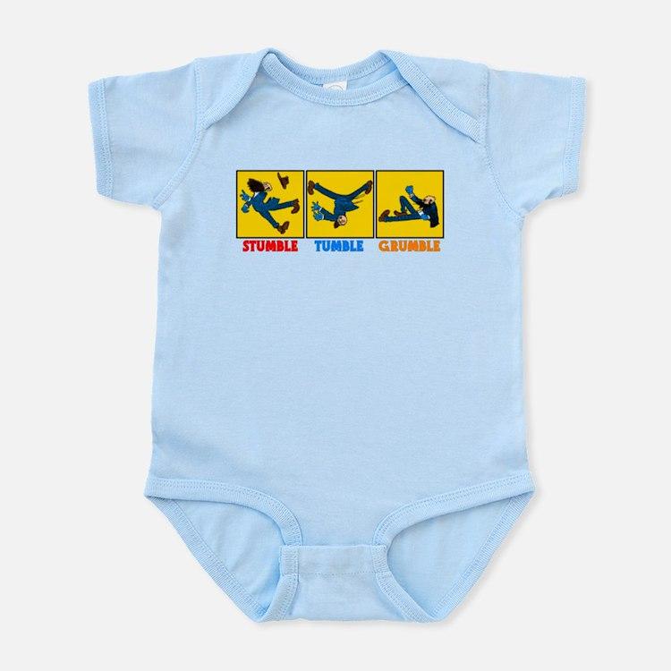 Stumble, Tumble, Grumble Infant Bodysuit