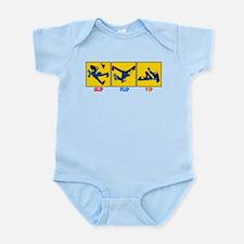 Slip, Flip, Yip Infant Bodysuit