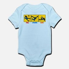 Fall, Sprawl, Bawl Infant Bodysuit