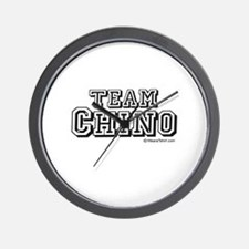Team Chino -  Wall Clock