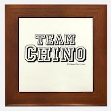 Team Chino - Framed Tile