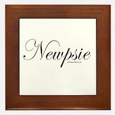 Newpsie - Framed Tile