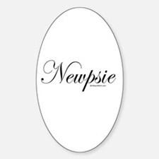 Newpsie - Oval Decal