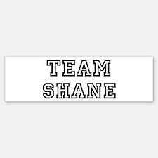 Team Shane Bumper Bumper Bumper Sticker