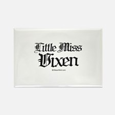 Little Miss Vixen - Rectangle Magnet