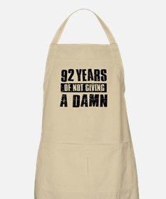 92 years of not giving a damn Apron
