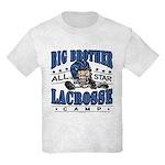 Big Brother Lacrosse Blue Kids Light T-Shirt