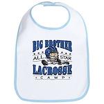 Big Brother Lacrosse Blue Bib