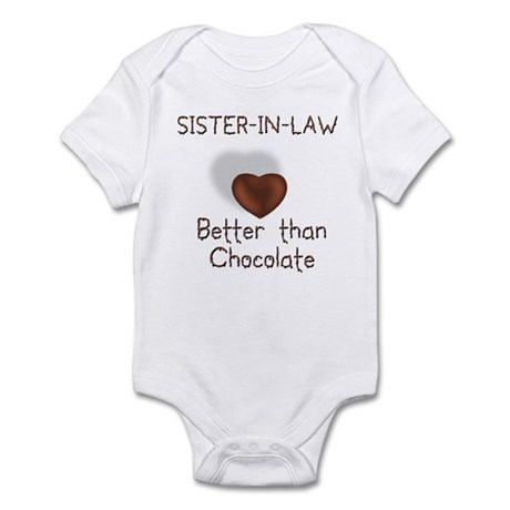 Sister-in-law Better Than C Infant Creeper