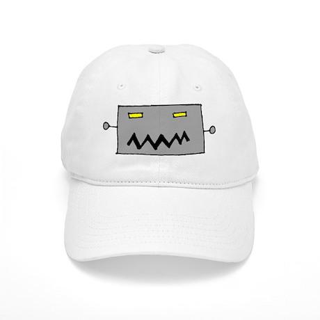 Big Grey Robot Head Cap