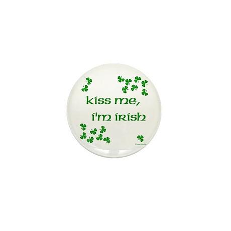 Kiss Me I'm Irish 1 Mini Button