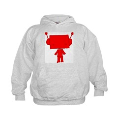 red robobud Hoodie