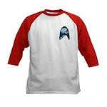StarTrek Badge Kids Baseball Jersey