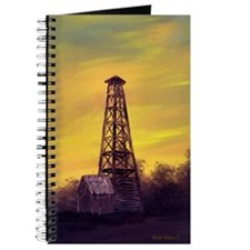 'Old Derrick Sunset' Journal