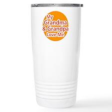 My Grandma and Grandpa Love M Travel Mug