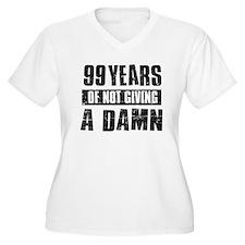 99 years of not giving a damn T-Shirt
