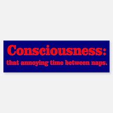 Annoying Consciousness Sticker (Bumper)