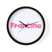 """Francine"" Wall Clock"