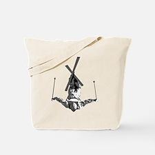 Freestyle Skiing Tote Bag