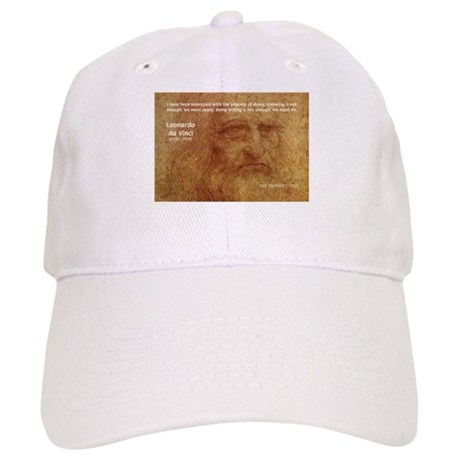 Wisdom Leonardo da Vinci Cap