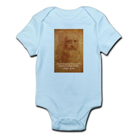 Wisdom Leonardo da Vinci Infant Creeper