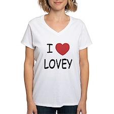 I heart lovey Shirt