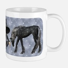 Black Unicorn Mug