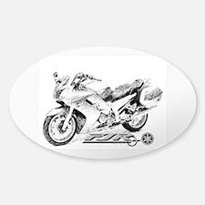 Yamaha FJR 1300 Sticker (Oval)