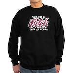 Not Your Bitch Sweatshirt (dark)