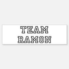 Team Ramon Bumper Bumper Bumper Sticker