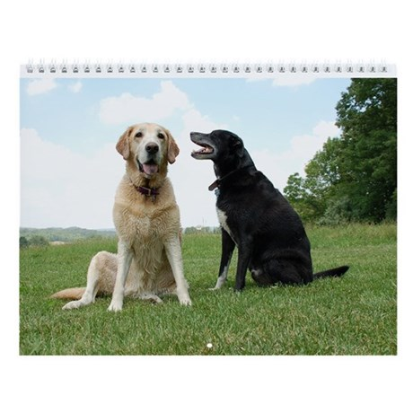 "Labrador Retriever Wall Calendar ""F"""